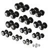 Sport-Thieme Lot d'haltères compacts, 2,5-30 kg