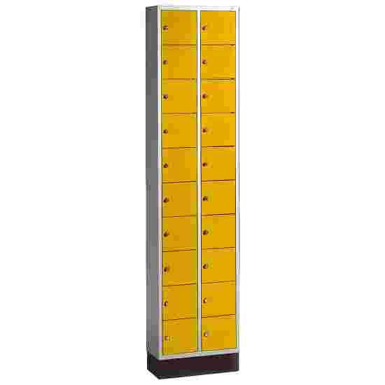 Armoire à casiers « S 4000 Intro » Jaune soleil (RDS 080 80 60)