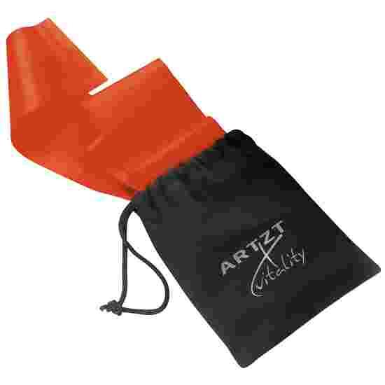 Artzt Vitality Bande d'exercice, sans latex 2,5 m, Rouge, moyen