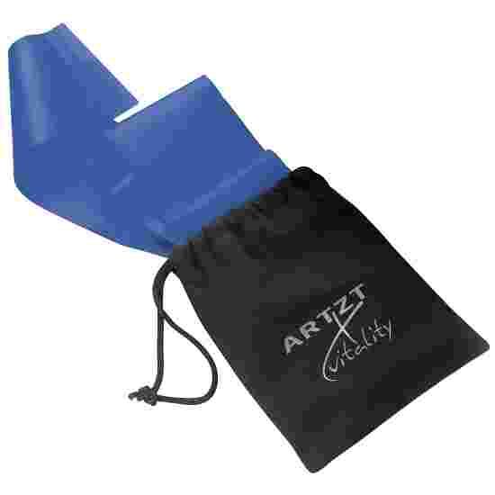 Artzt Vitality Bande d'exercice, sans latex 2,5 m, Bleu, très difficile