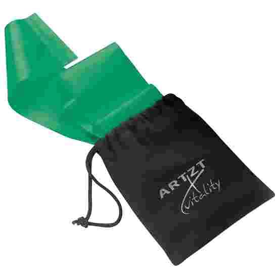 Artzt Vitality Oefenband,latex vrij 2,5 m, Groen, sterk