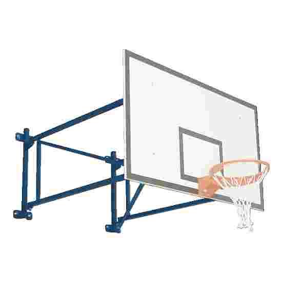 Basketbalwandconstructie draaibaar Overstek 225 cm, Betonmuur