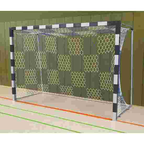 But de handball en salle Sport-Thieme Angles d'assemblage soudés, Noir-argent