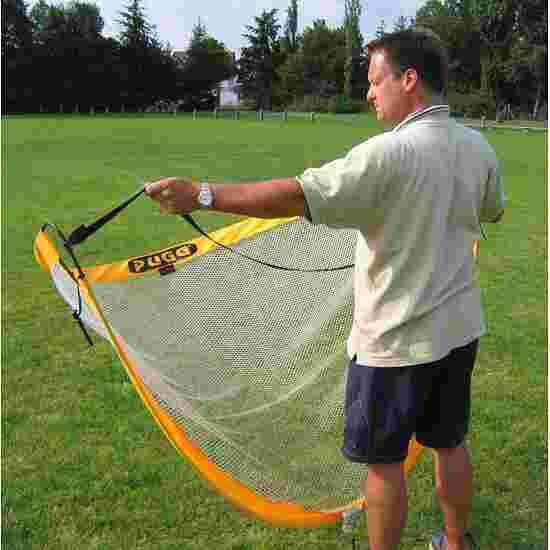 Buts d'entraînement de foot « Pugg Pop up » Jaune, 183x107x107 cm