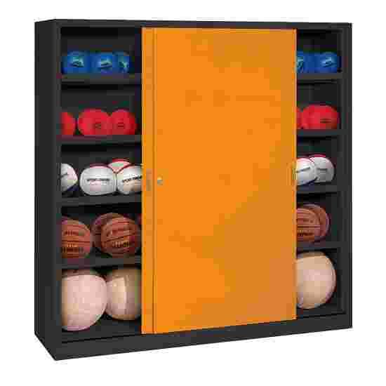 C+P Ballenkast Geel-oranje (RAL 2000), Antraciet (RAL 7021)