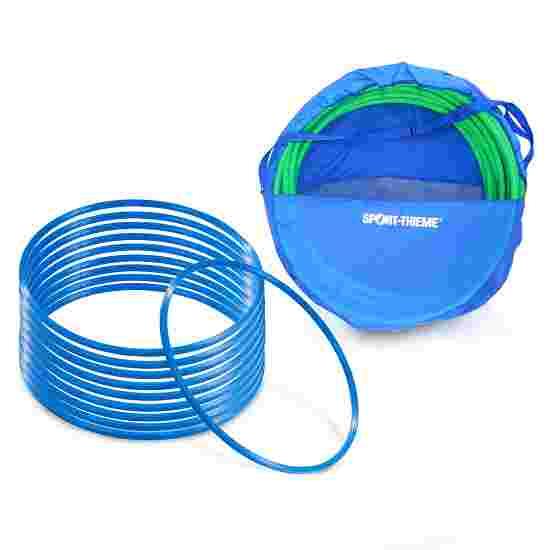 Cerceaux de gymnastique Sport-Thieme par lot avec sac de rangement « ø 70 cm » Bleu