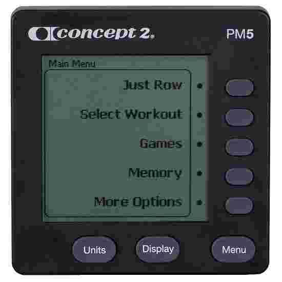 """Concept2 Roeitoestel """"Model D""""met PM5 Monitor Zwart"""