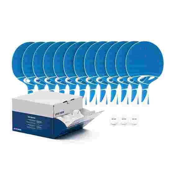 Cornilleau Kit de raquettes de tennis de table « Tacteo 30 Outdoor » Balles blanches