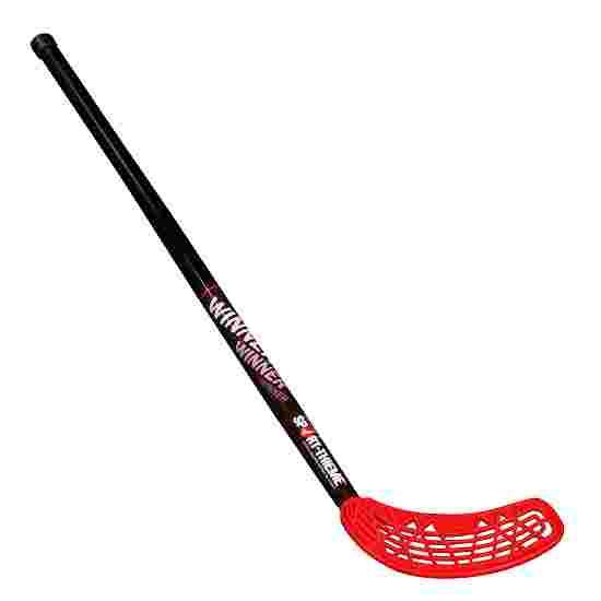 Crosse d'unihockey « Winner » Lame rouge