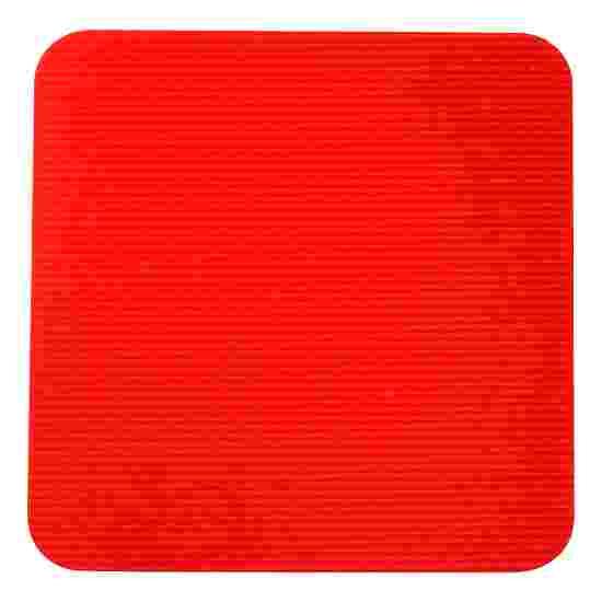 Dalles de gym Sport-Thieme Rouge, Carré, 30x30 cm