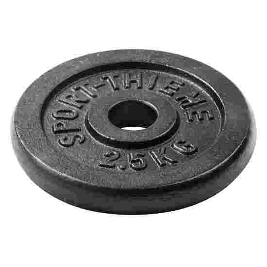 Disques d'haltères Sport-Thieme « Fonte » 2,5 kg