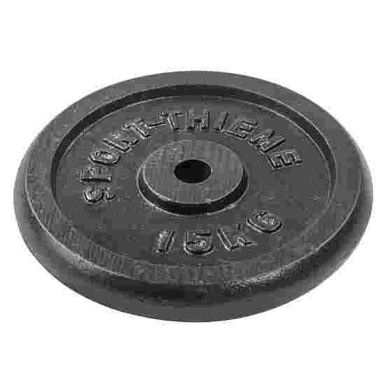 Disques d'haltères Sport-Thieme « Fonte » 15 kg