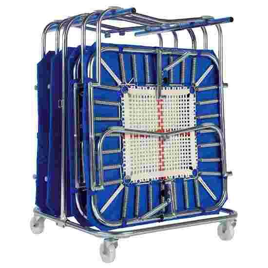 Eurotramp Chariot de transport pour mini trampolines Pour 8 mini trampolines