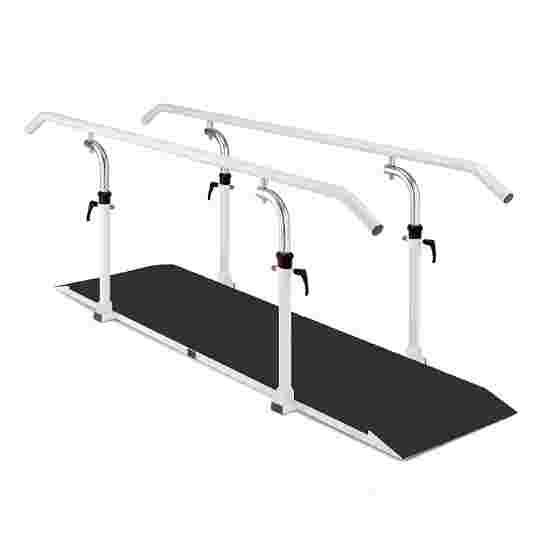Ferrox Barres de marche avec plateforme Longueur de la barre 250 cm