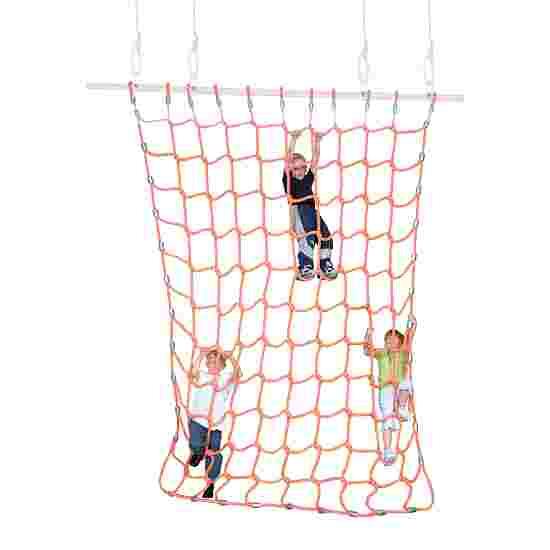 Filet d'escalade Sport-Thieme Polypropylène, orange, 3x2,5 m