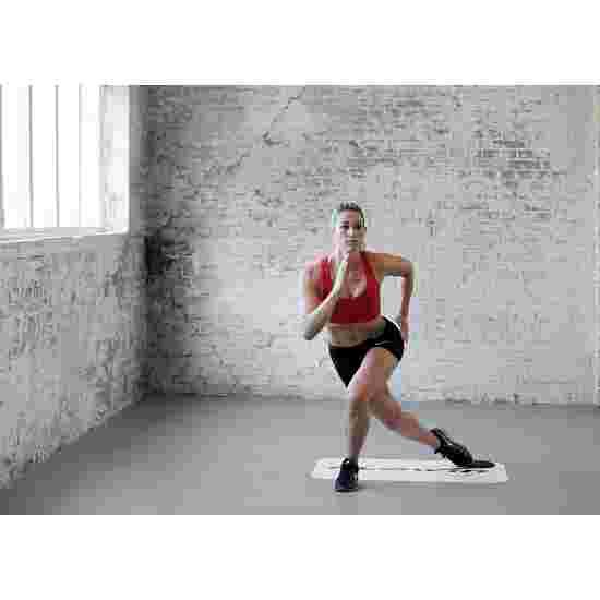 Flowin Tapis d'entraînement avec accessoires Fitness