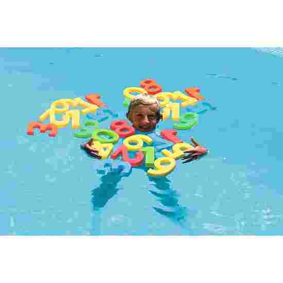 Jeu d'apprentissage aquatique « Soupe de chiffres »