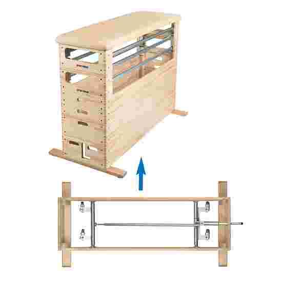 Kit de modules de gymnastique Sport-Thieme « Combi » Avec dispositif de transport sur roulettes