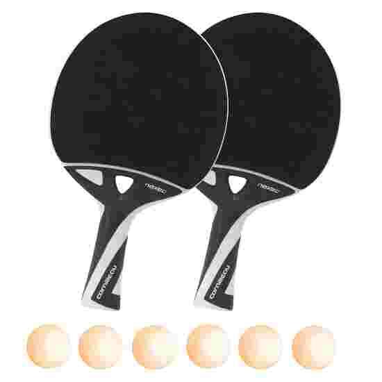 Kit de raquettes de tennis de table « nexeo X70 » Balles orange