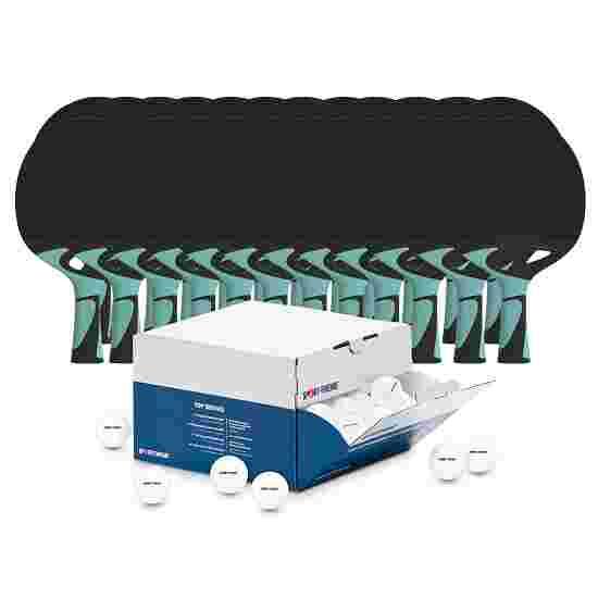 Kit de tennis de table Outdoor Cornilleau Balles blanches