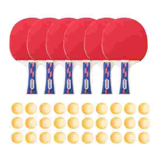 Kit de tennis de table Sport-Thieme « Champion » – Spécial École Balles orange
