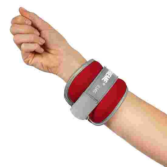 Manchettes lestées Sport-Thieme «Premium» 0,5 kg, rouge