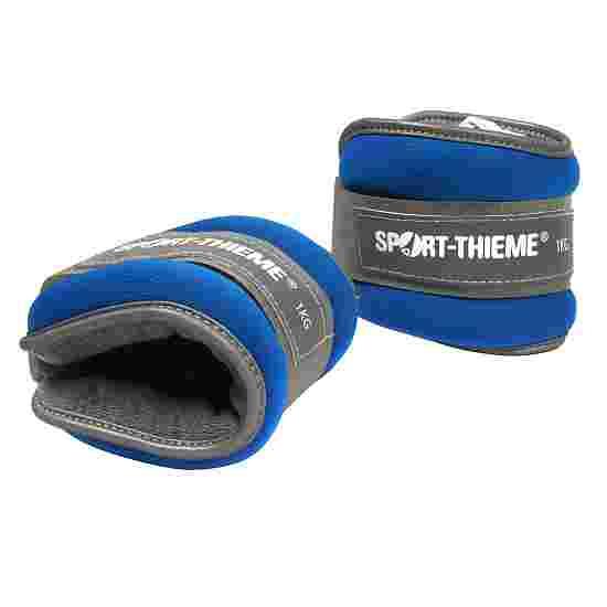 Manchettes lestées Sport-Thieme «Premium» 1 kg, bleu
