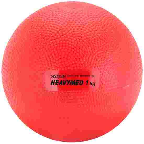 Medecine ball Gymnic « Heavymed » 1000 g, ø 12 cm, rouge