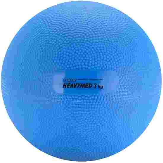 Medecine ball Gymnic « Heavymed » 3000 g, ø 17 cm, bleu