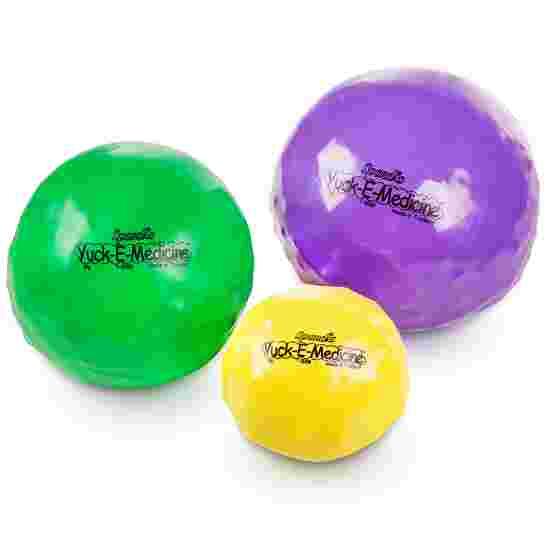 Medecine ball Spordas « Yuck-E-Medicineball » 1 kg, ø 12 cm, jaune