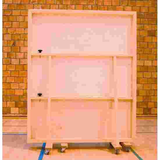 Miroir mural roulant 400x180 cm Sans film de protection contre les éclats