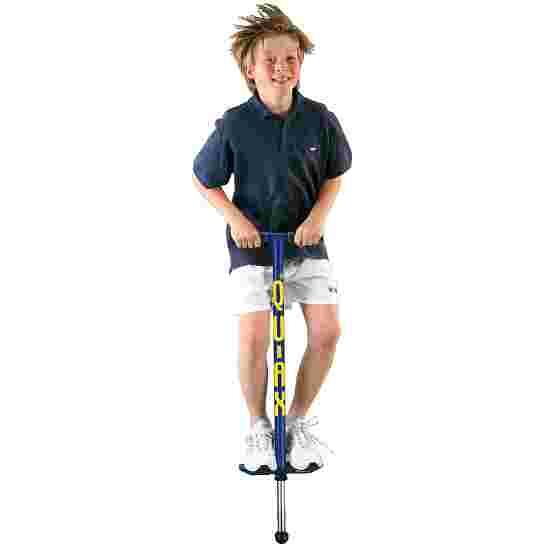 Qu-Ax Bâton sauteur Pogo-Stick Bleu, L : 98 cm, jusqu'à 50 kg