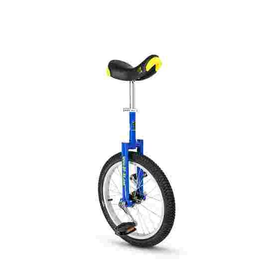 Qu-Ax Monocycle d'extérieur « Luxus » Pneu 18'' (ø 46 cm), cadre bleu