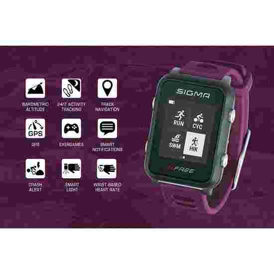 """Sigma Fitness horloge """"iD Free"""" Paars"""