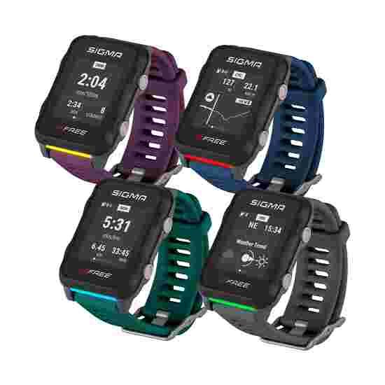 "Sigma Fitness horloge ""iD Free"" Blauw"