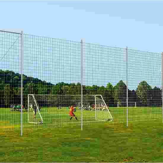 Sport-Thieme balvangnetinstallatie voor het sportterrein Zonder grondbussen