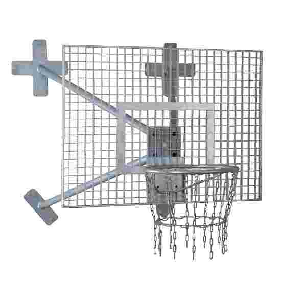 Sport-Thieme But de basket mural « Outdoor » Panier « Outdoor », Panneau : caillebotis