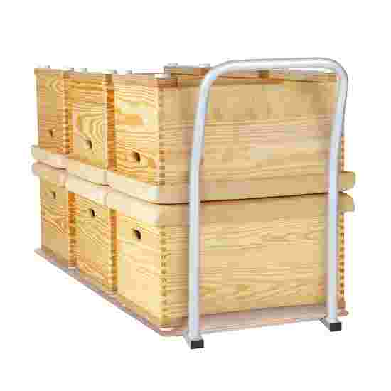 Sport-Thieme Chariot de transport pour plinths de 1 et 3 caissons