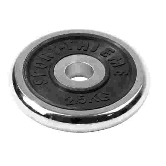 Sport-Thieme Disque d'haltère Chrome 2,5 kg