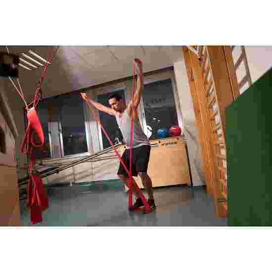Sport-Thieme Fitnessband 150 2 m x 15 cm, Rood, Extra sterk