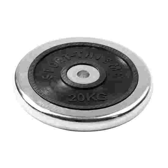 Sport-Thieme Halterschijf van chroom 20 kg