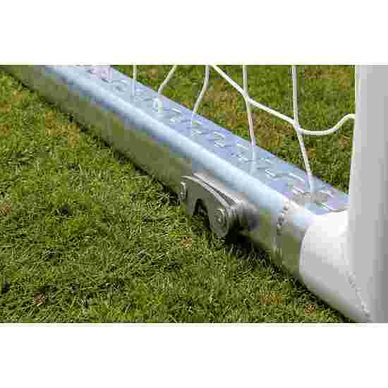 Sport-Thieme Jeugdvoetbaldoel 5x2 m, wit, vrijstaand, met vrije netophanging
