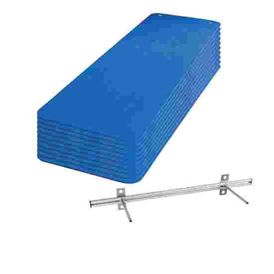 Sport-Thieme Kit de nattes de gymnastique « Fit&Fun » Bleu