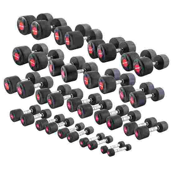Sport-Thieme Kit d'haltères compacts en caoutchouc 1–30 kg
