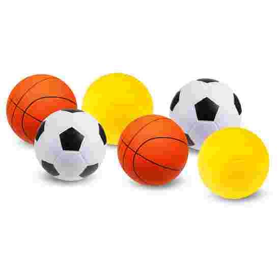 Sport-Thieme Lot de ballons en mousse PU « Mix »