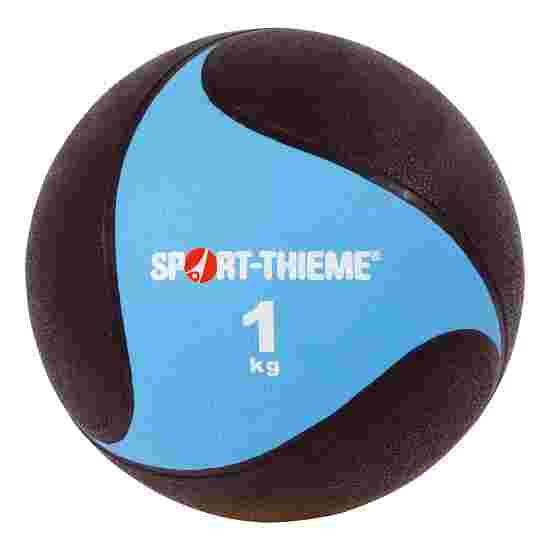 Sport-Thieme Medecine ball en caoutchouc 1 kg, ø 19,5 cm