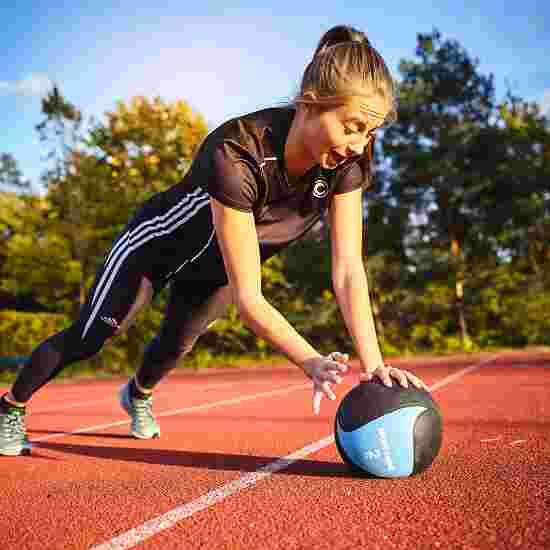 Sport-Thieme Medecine ball en caoutchouc 2 kg, ø 22 cm