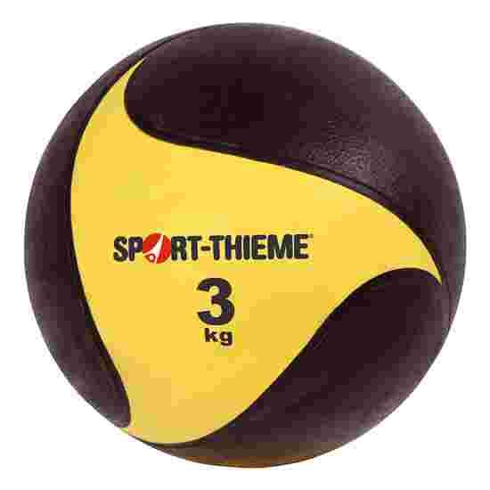 Sport-Thieme Medecine ball en caoutchouc 3 kg, ø 22 cm
