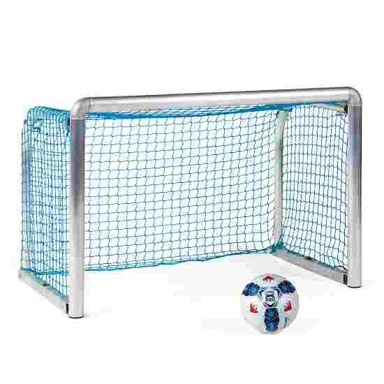 """Sport-Thieme Mini-Trainingsdoel """"Protection"""" 1,20x0,80 m, diepte 0,70 m, Incl. net, blauw (mw 4,5 cm)"""