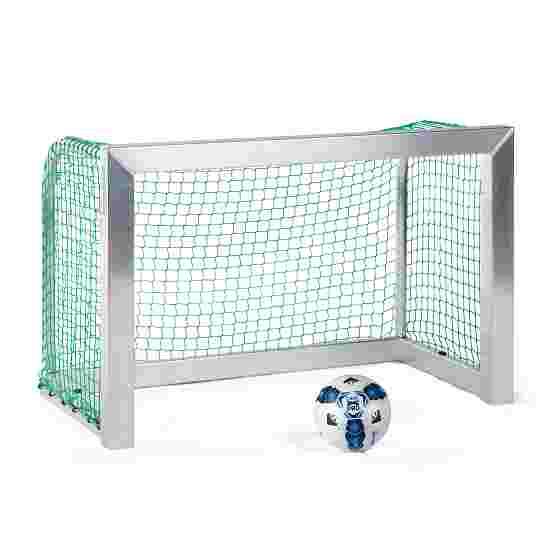 Sport-Thieme Mini-Trainingsdoel, volledig gelast 1,20x0,80 m, diepte 0,70 m, Incl. net groen (mw 4,5 cm)